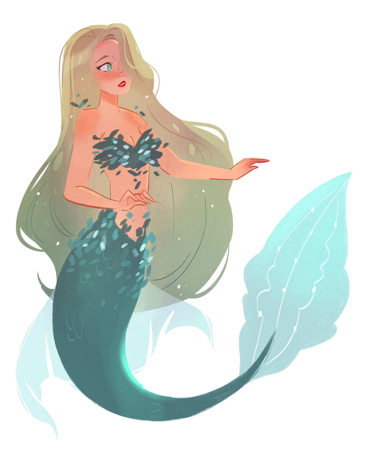 the art of animation stephanie priscilla mermaid cartoon anime mermaid