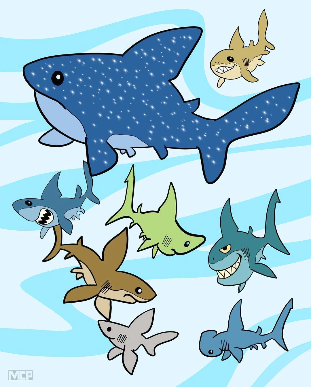 a shiver of sharks shark tiburon requin haifisch sharks shaaark
