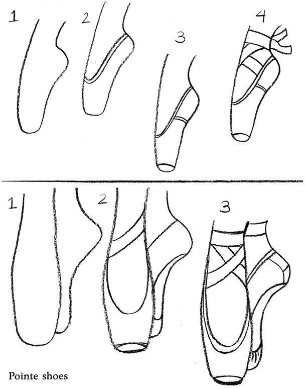 coloring activity pages how to draw ballet pointe shoes dance in 2019 pinterest drawings ballet drawings and art