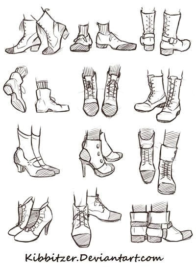 Drawing Cartoons Shoes I Can Never Satisfactorily Draw Shoes Art Drawings Drawing