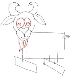how to draw cartoon goats farm animals step by step drawing tutorial