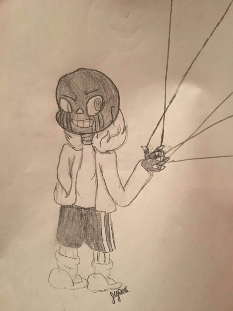 Drawing Cartoons Undertale Error Sans Drawing Undertale Amino