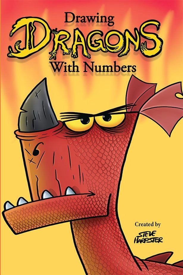 drawing dragons with numbers shop harptoons