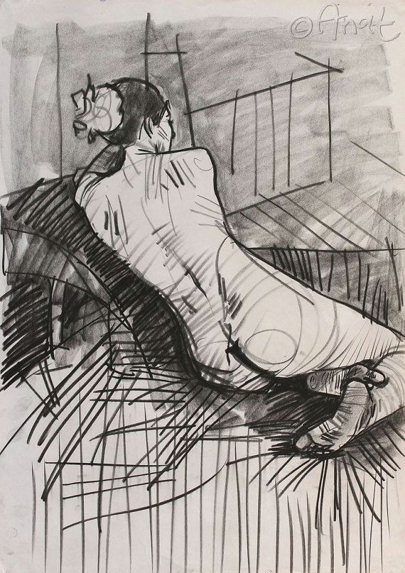 charcoal prints charcoal art charcoal drawing by anatostrovsky