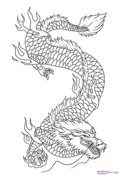 dragon drawings how to draw dragon art step 9 chinese dragon drawing japanese dragon