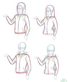 hoodies via poetofbloodandtime on tumblr how to draw hoodies how to draw jackets design