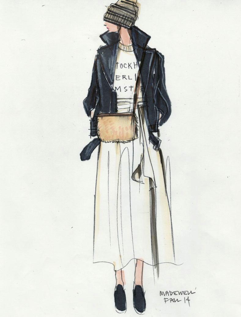 fashion sketch tumblr