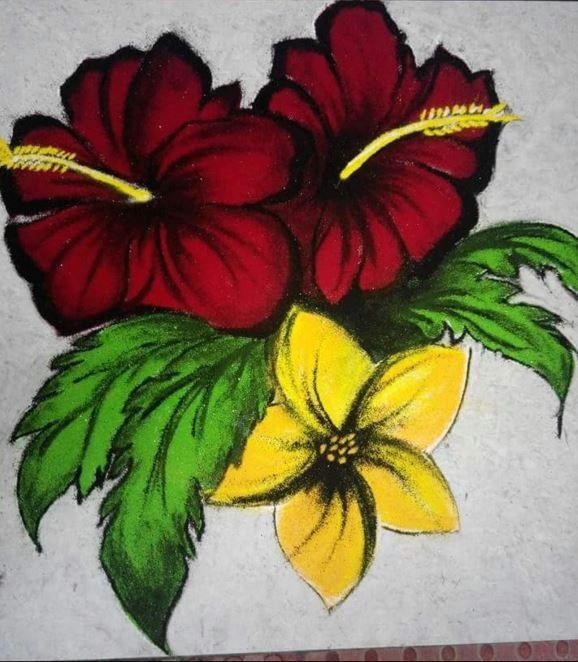 rangoli design for competition