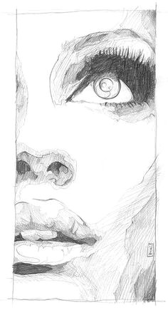 111 insanely creative cool things to draw today face drawings half face drawing sketches