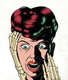 kristian hammerstad psychedelic art comic art comic book pop art illustration vector