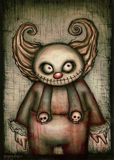 evil clown by chiaroescuro evil clowns funny clowns creepy clown scary clown drawing