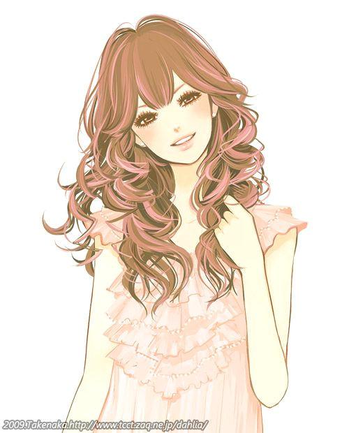 kawaii anime boy drawings anime cute girl japanese takenaka picship