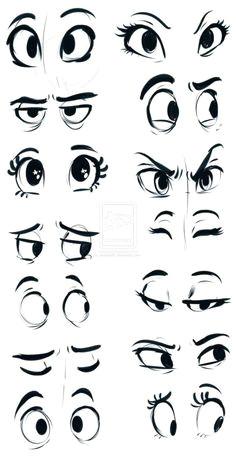 25 impressive ways to draw an eye easily