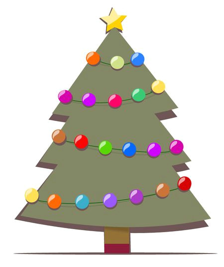 christmas tree clip art is a fun way to add one of the most symbolic images of the holiday season to your printable or online christmas projects