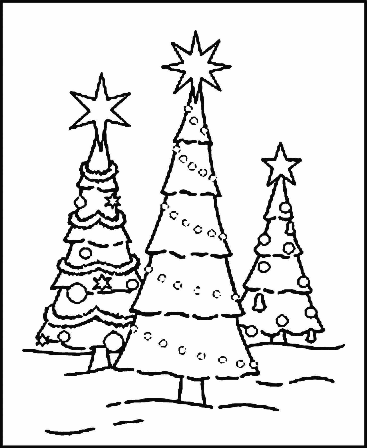 Drawing Cute Christmas Tree Unique Christmas Trees Clip Art Ttny Info