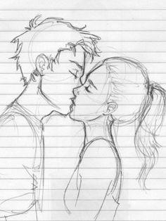 cute couple drawing waaaiit kaider is that yooouuuu love drawings couple