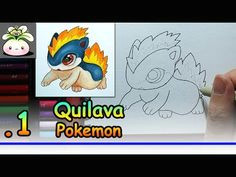 drawing cute quilava pokemon doodle art cute doodleart doodlearthcl doodleartcute doodle