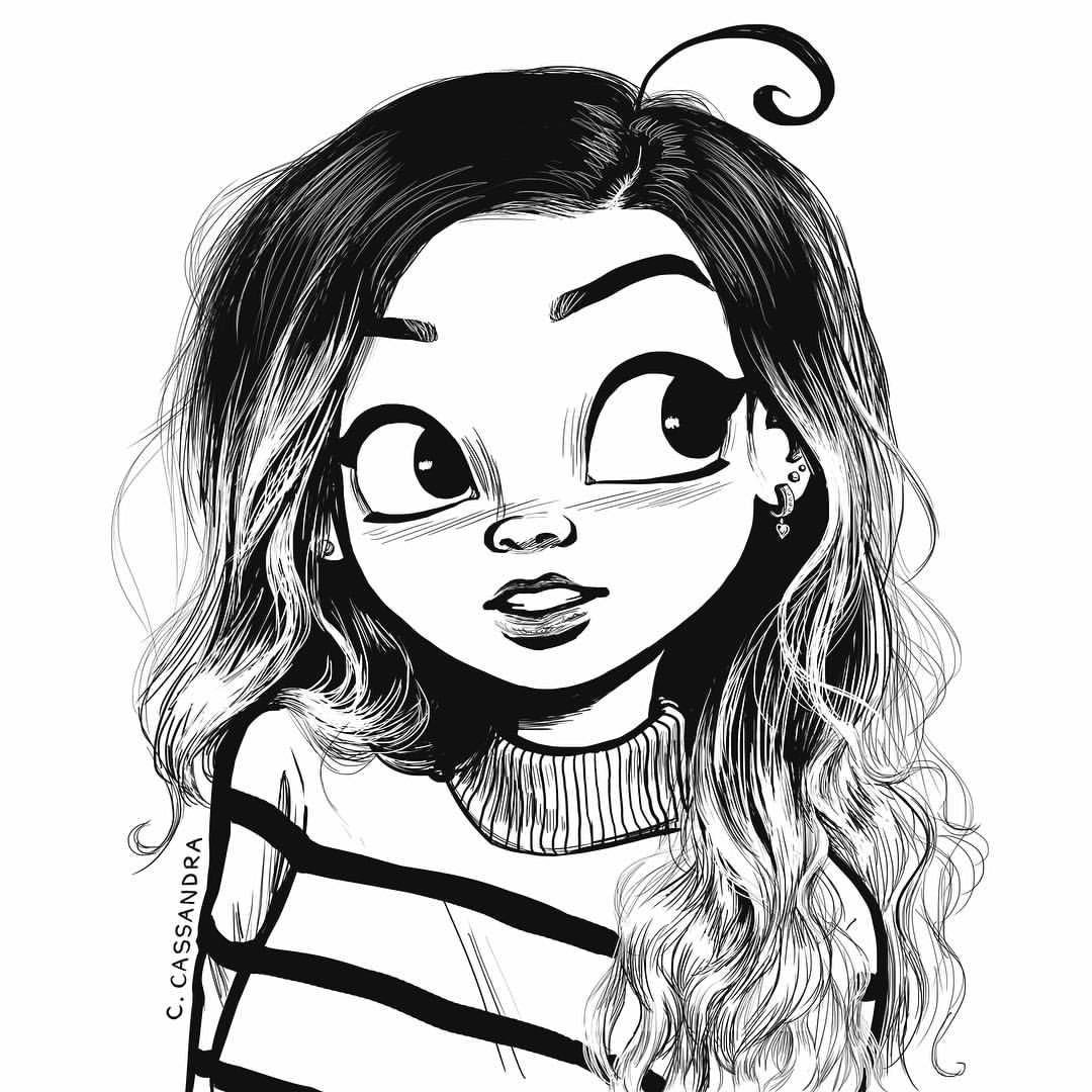 cute girl drawing at getdrawings com free for personal use
