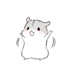 pretty art cute art cute hamsters molang cute stickers cute chibi