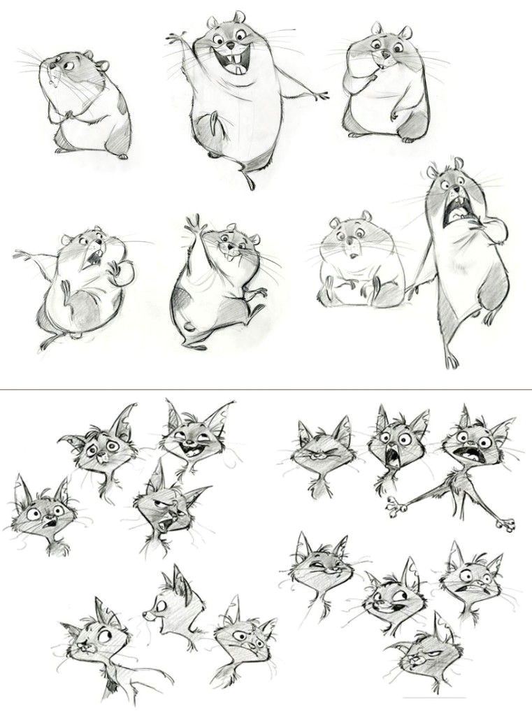 cute hamsters and cats sketches a find more at http
