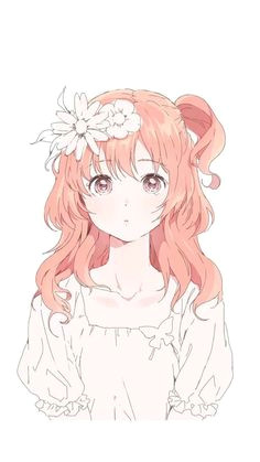she is cute but simple style color but she is the ideal type of any person who love good person a ethereal life a anime girls