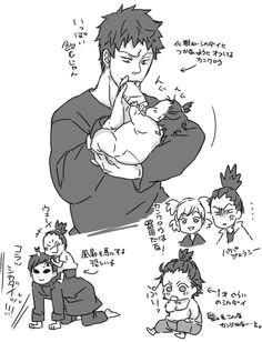 awww uncle kankuro and gaara are sooo cute naruto 6 naruto cute naruto