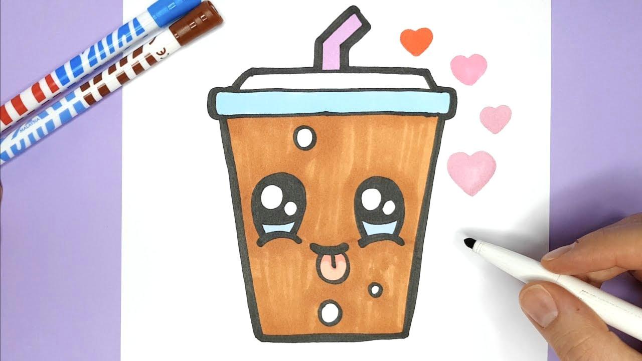 kawaii soda malen und zeichnen kawaii coca cola