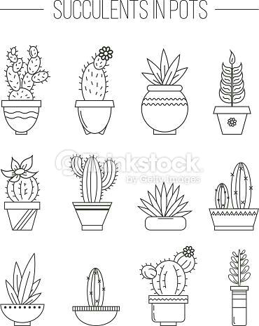 doodle art how to draw doodle how to draw cute cactus vector