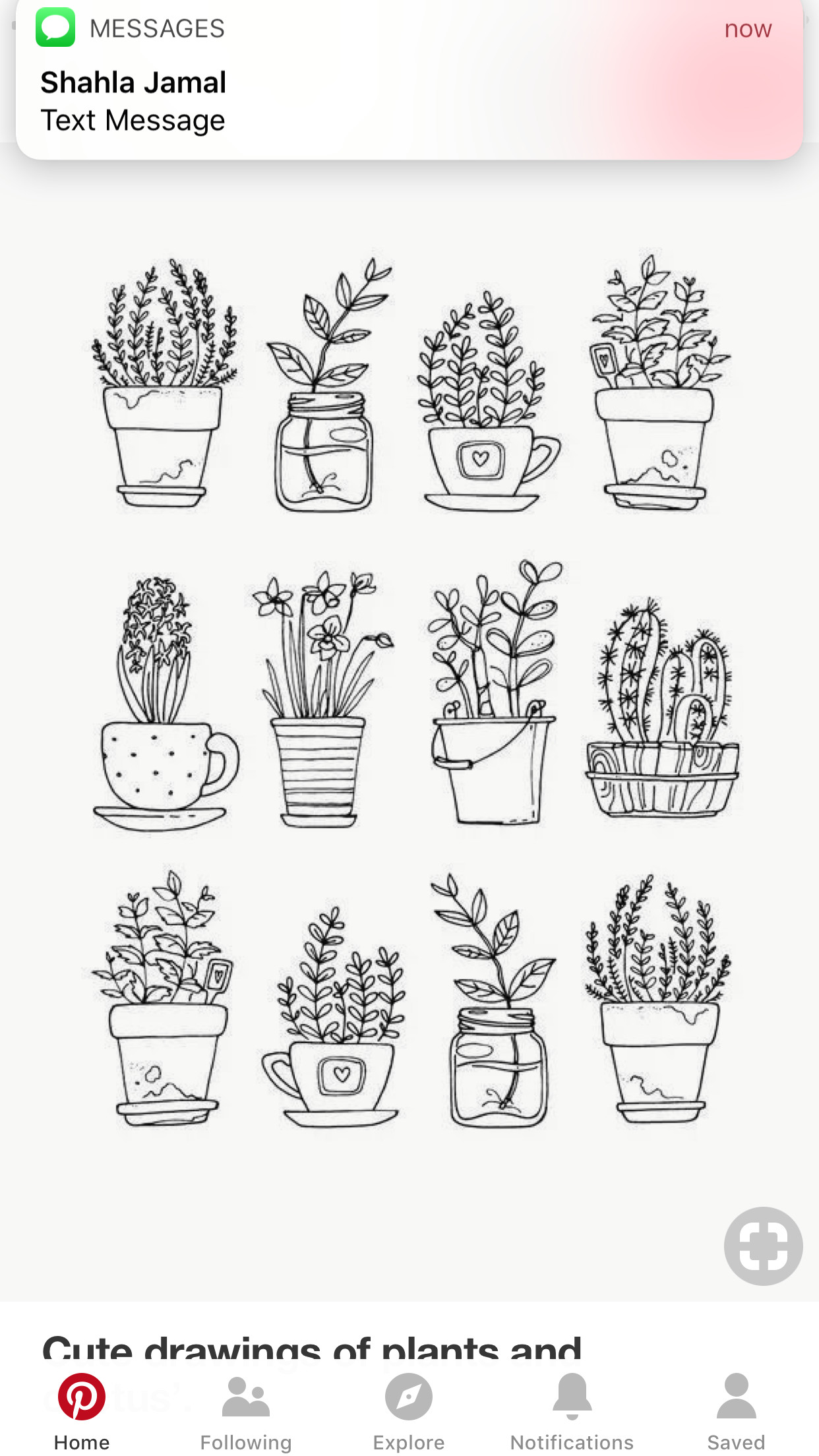 we hope you find a peaceful spot to sit and colour in the pretty plants chapter in simply colour mini