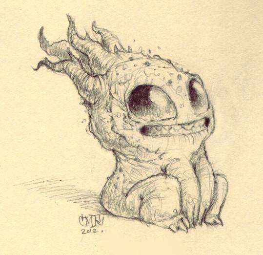 by chris ryniak doodle monster monster drawing cute little drawings cute drawings