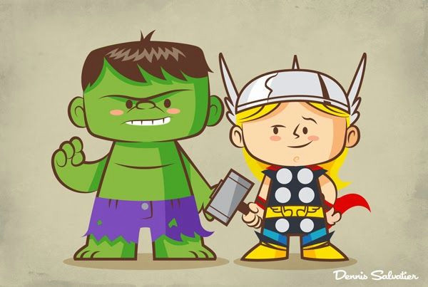 illustrations of 10 of the best buds in superhero comics