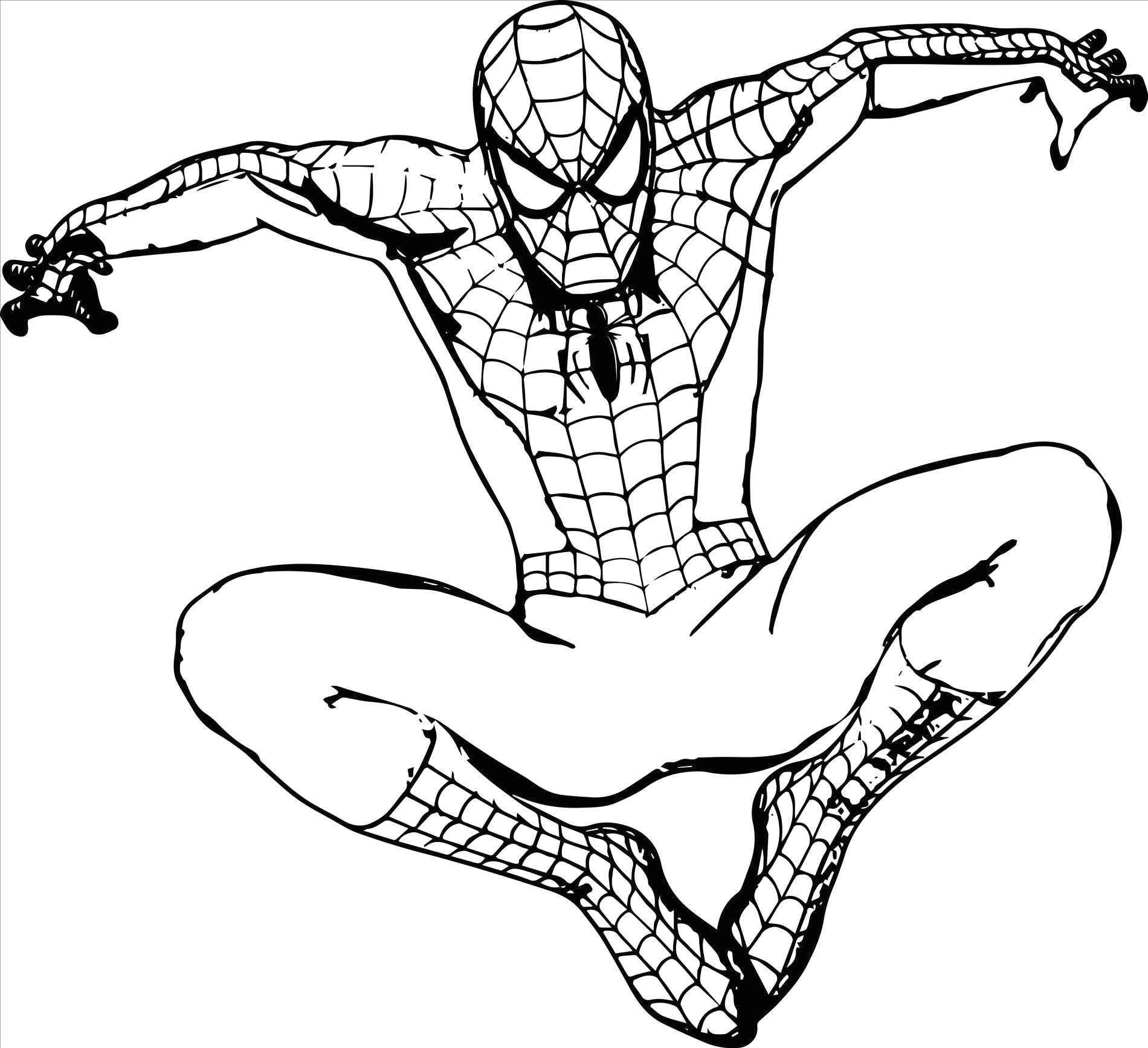 Drawing Cute Superheroes Superheroes Easy to Draw Spiderman Coloring Pages Luxury 0 0d