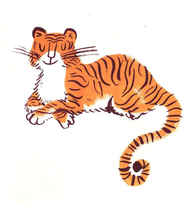 tiger art tiger drawing tiger tiger children s book illustration digital illustration