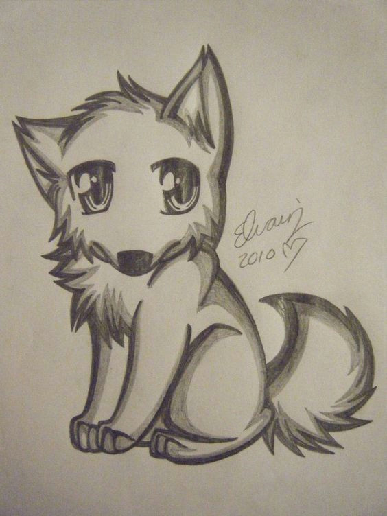 anime wolf drawing wolf drawing easy drawing tips drawing sketches painting