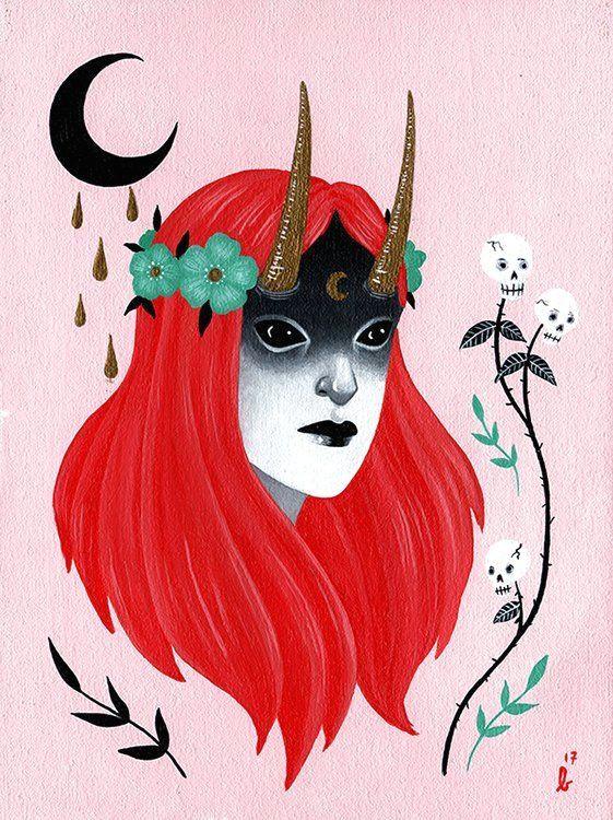 Drawing Devil Heart Ghoulnextdoor Spring Demons Ally Burke Baby Heart Creepsville