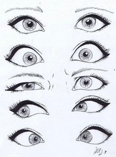 h ladies eye expressions the third one is totally sarah scorched