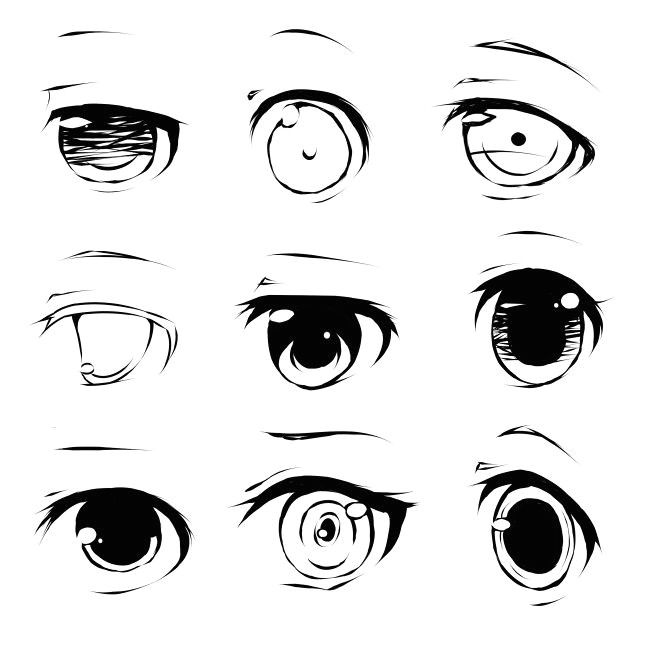 different anime eyes google search