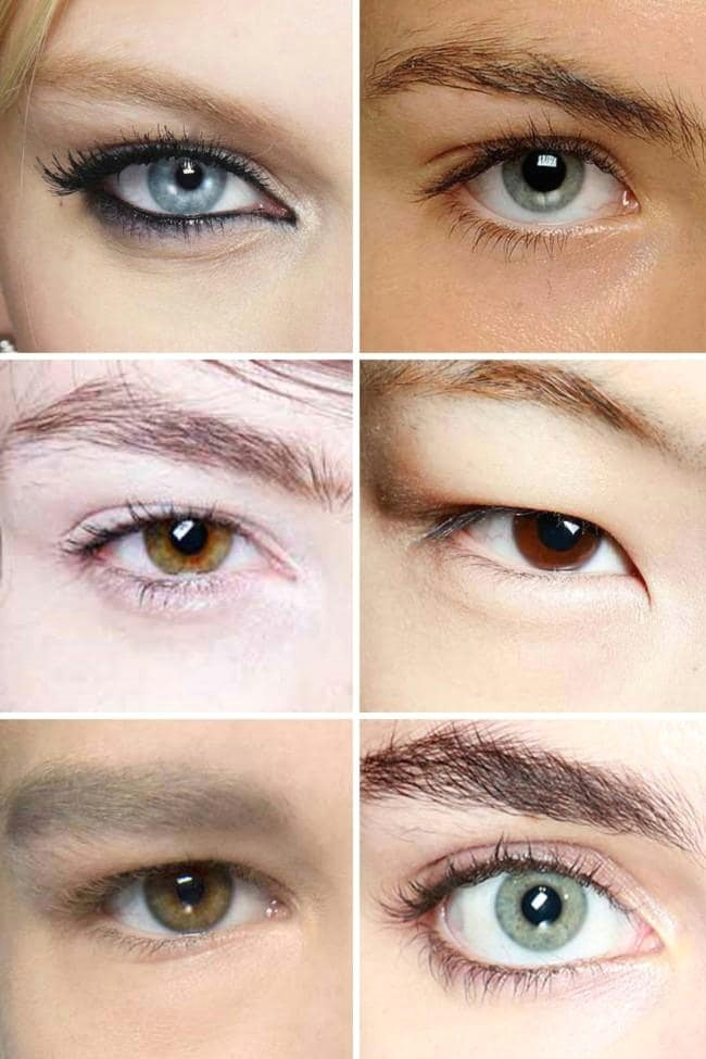 how to determine your eye shape and master your eyeshadow application vogue australia