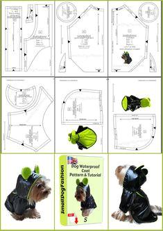 pdf dog clothes patterns coat pattern for dog diy dog clothes coat diy for dog small dog clothes pattern for small dog waterproof coat