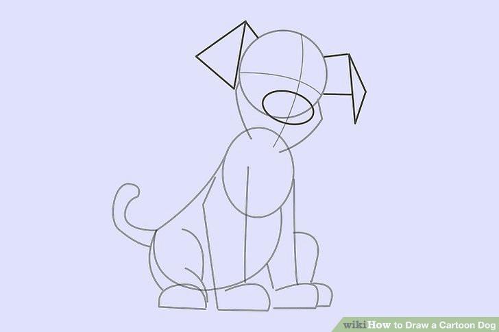 image titled draw a cartoon dog step 16