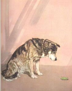 dogs diana thorne dog print vintage husky dog art dog lover gift dog portrait dog painting vintage wall art dog wall art wall decor wall art