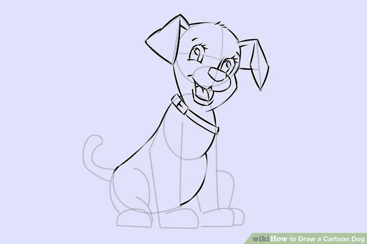 image titled draw a cartoon dog step 21