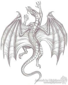 climbing medieval dragon idee tattoo vorlagen zeichnen skizzen mittelalterliches tattoo drachen