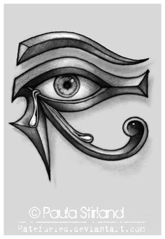crying eye of ra