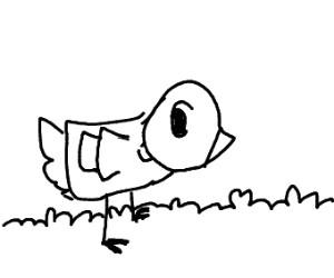 duck wearing a shirt