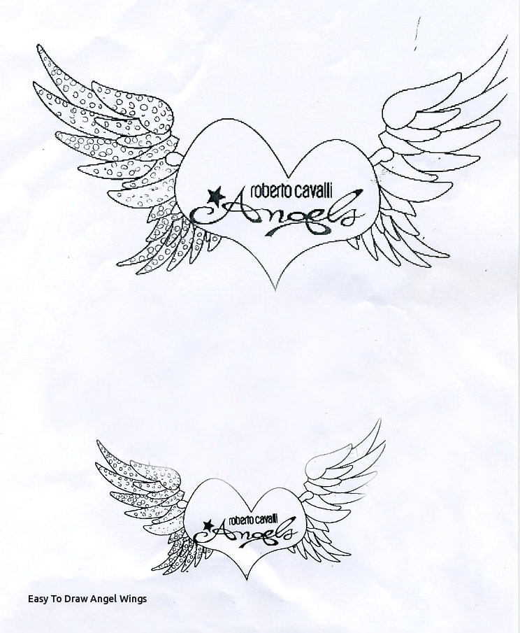 easy to draw angel wings belts for cavalli angels are the girls flying hearth sketch to