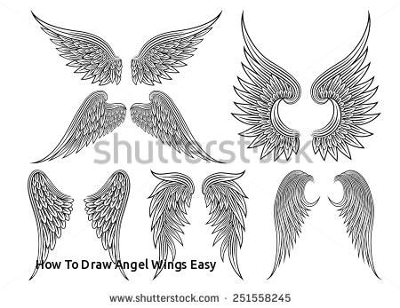 how to draw angel wings easy blotnik obrazy stockowe obrazy wolne od honoraria w autorskich i of