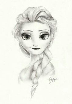 Drawing Easy Elsa 19 Best Drawing Frozen Images Disney Drawings Sketches Pencil