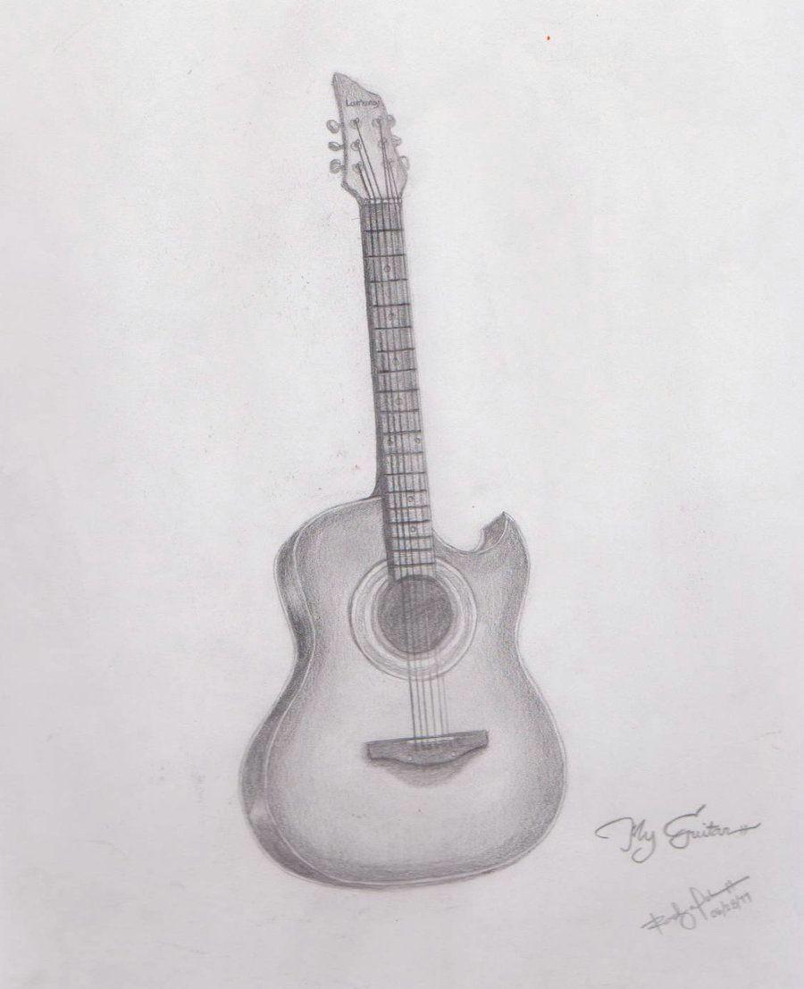 guitar sketch guitar drawing guitar art fantasy concept art cute drawings