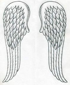 line art drawings of wings angel wings drawing how to draw angels how to